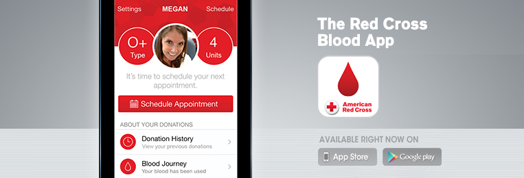 Red Cross donor app