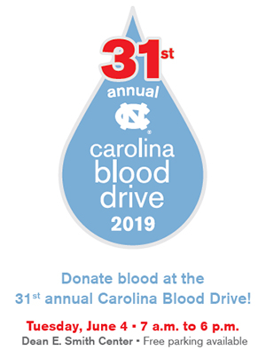 31st Annual Carolina Blood Drive